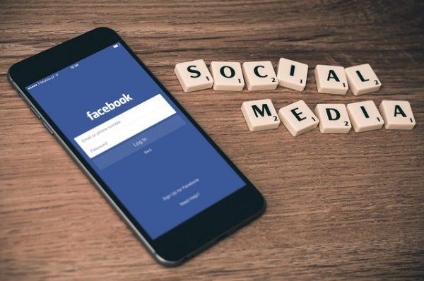 sharing social media content