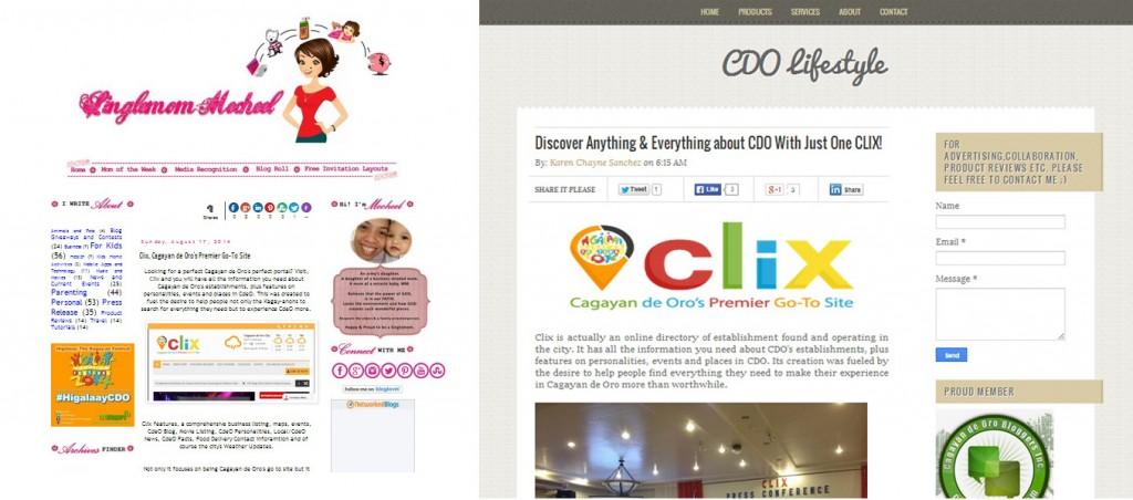 clix website