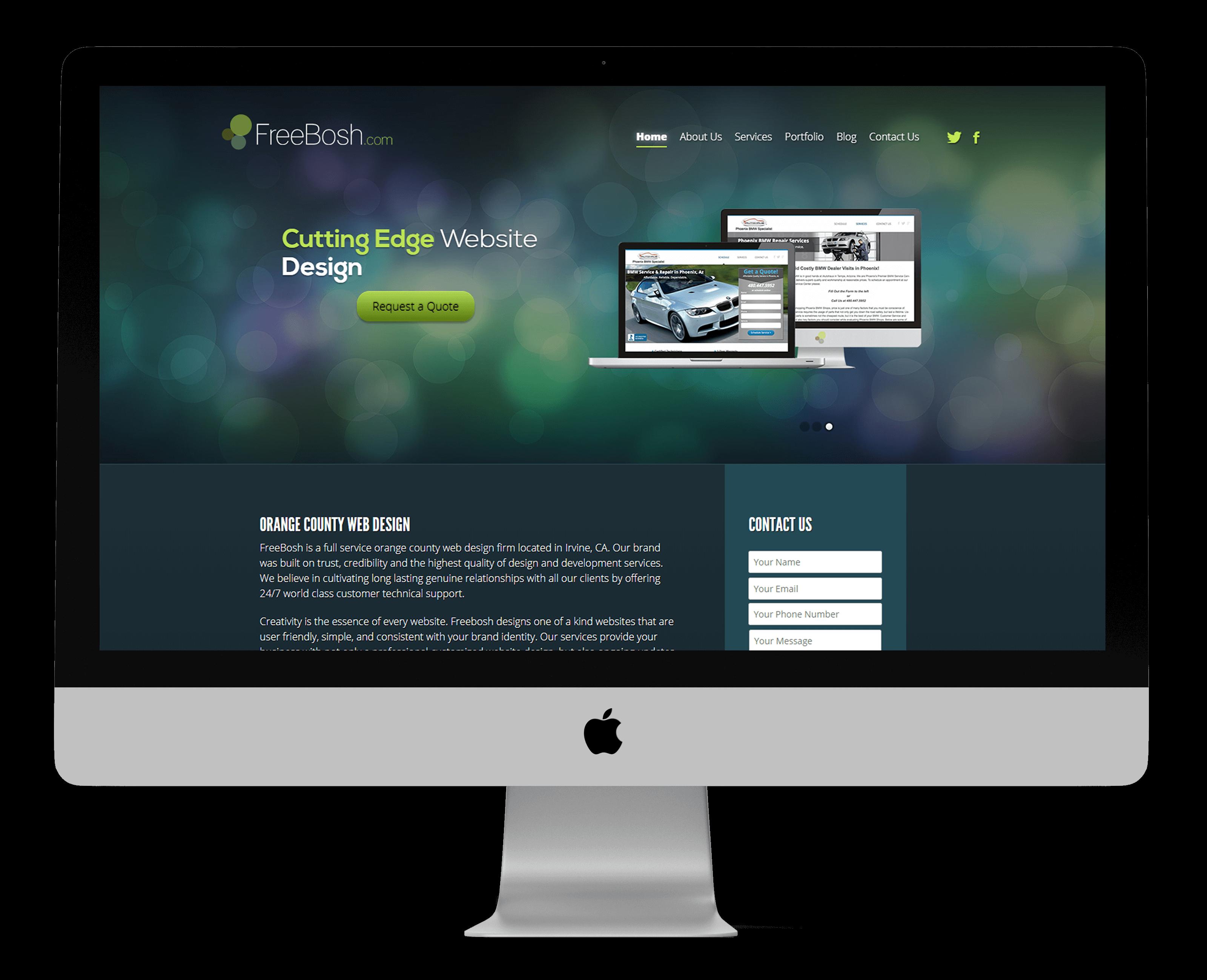 Freebosh Website
