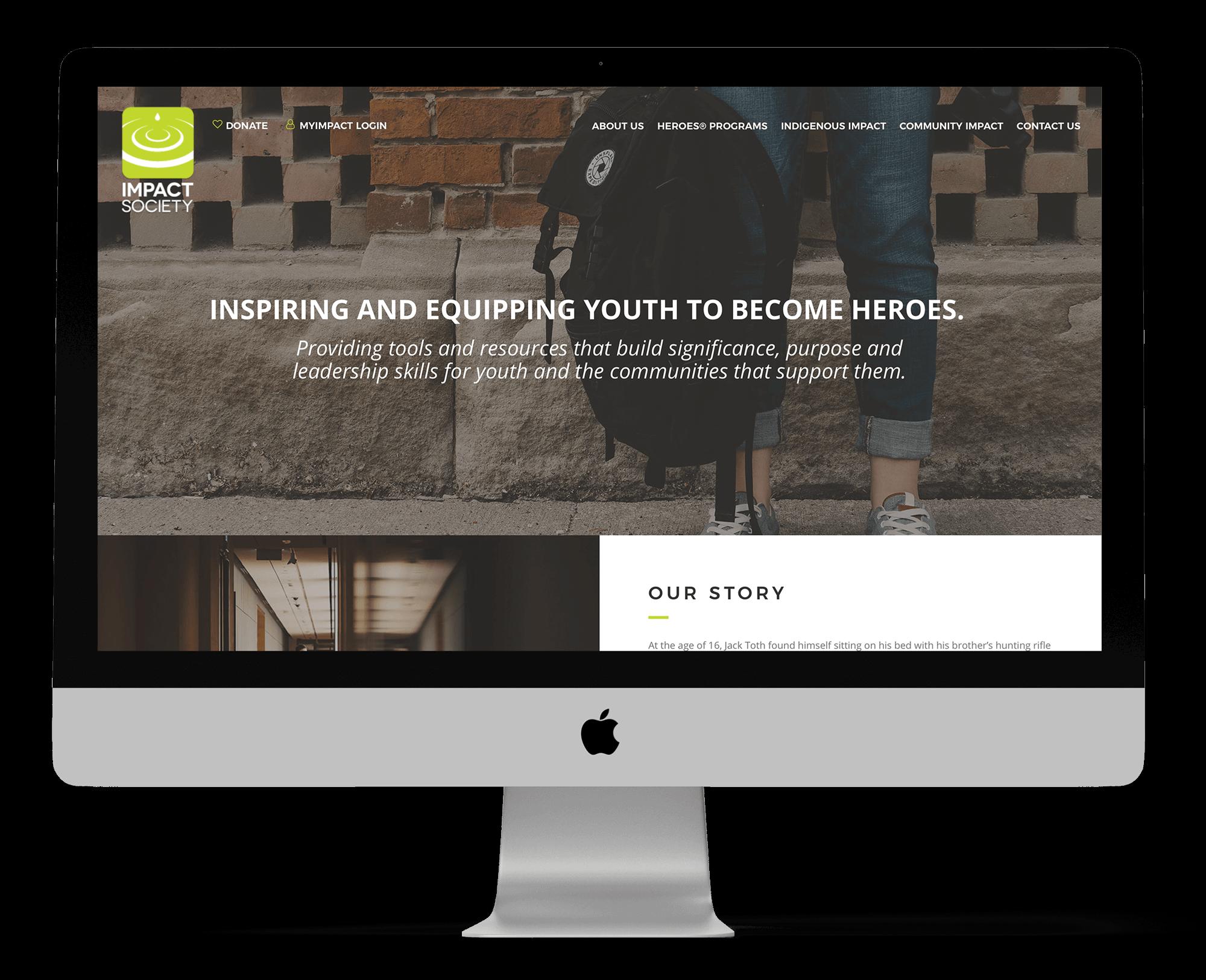 Impact Society Website
