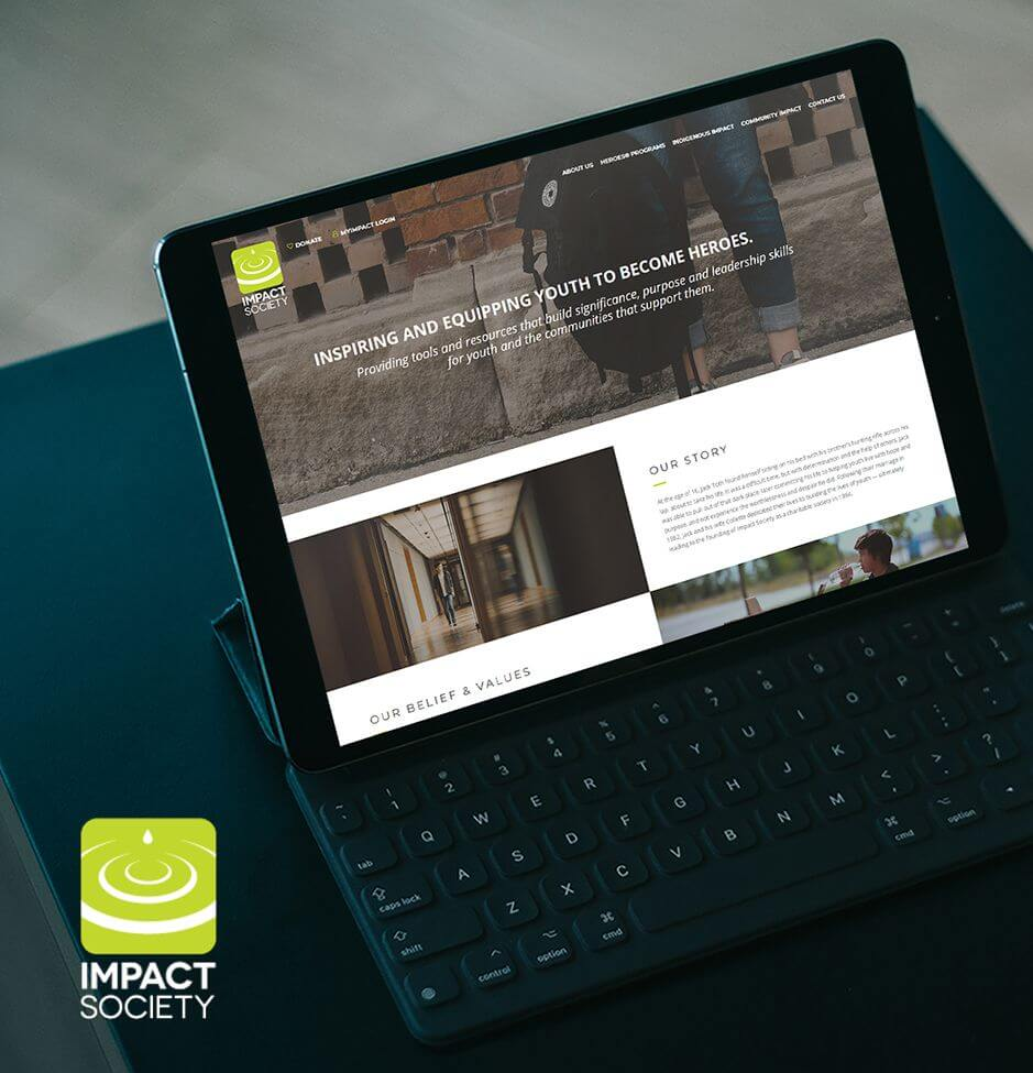 Impact Society Website