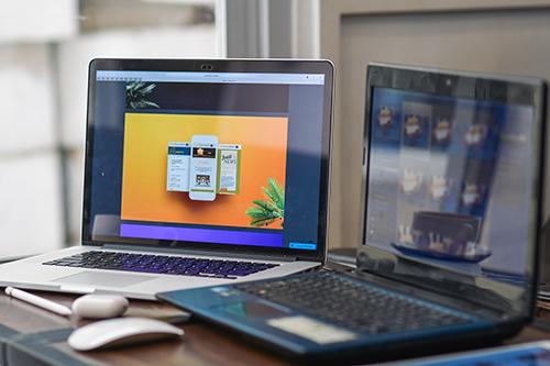 Free Web Design Mockup